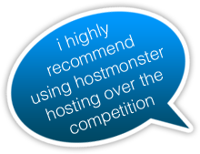 Signup for HostMonster